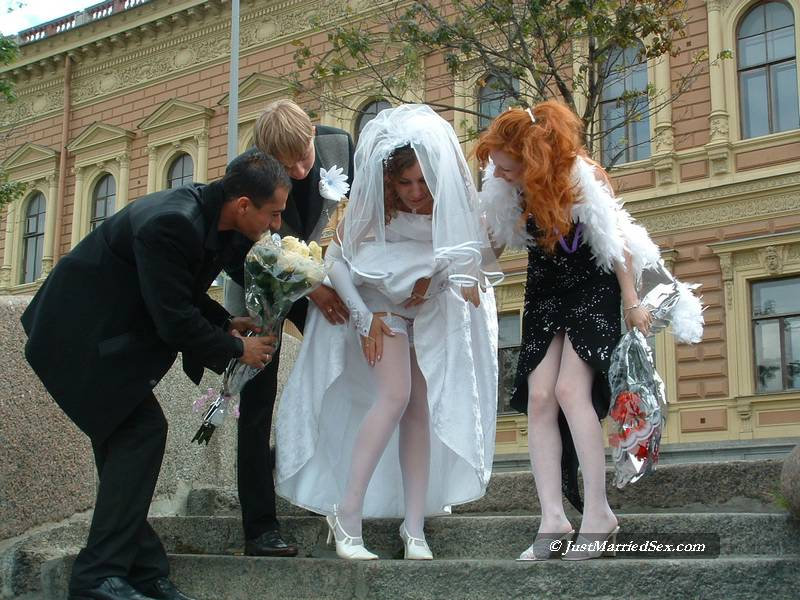 Russian wedding sex