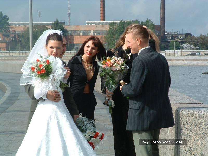 Русский порно на свадьба